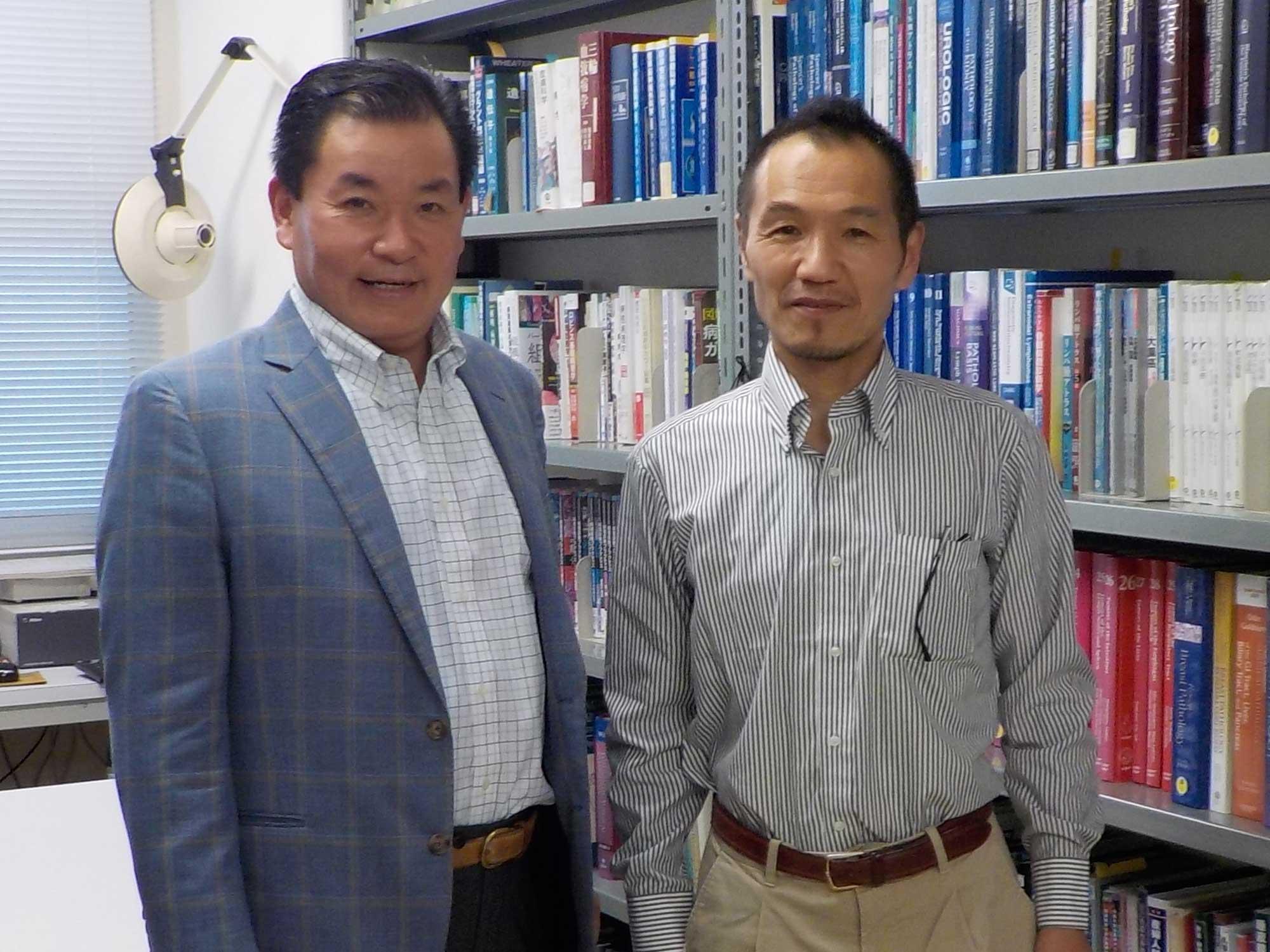 弊社代表と伊藤 彰彦 教授